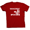 Management del Dolore Post-Operatorio - T-shirt Logo Rossa